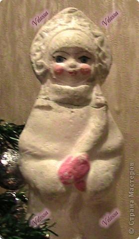 Наконец-то покажу наши Новогодне-Рождественские украшательства.  Это собственно мой Веночек. Основа - настоящая виноградная лоза, заготовленная осенью.  фото 4