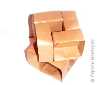 Использование коробочек оригами фото 2