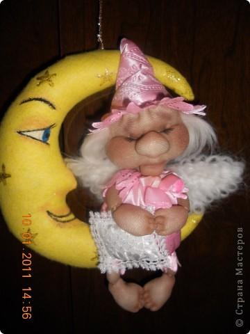 Вдохновленная МК Ликмы (ОГРОМНОЕ ЕЙ СПАСИБО) у меня появился спящий ангелочек. фото 6