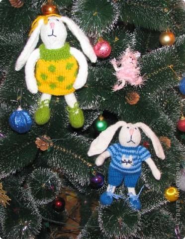 Новогодние зайцы и мини-феечка Сонечка фото 1