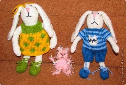 Новогодние зайцы и мини-феечка Сонечка фото 2