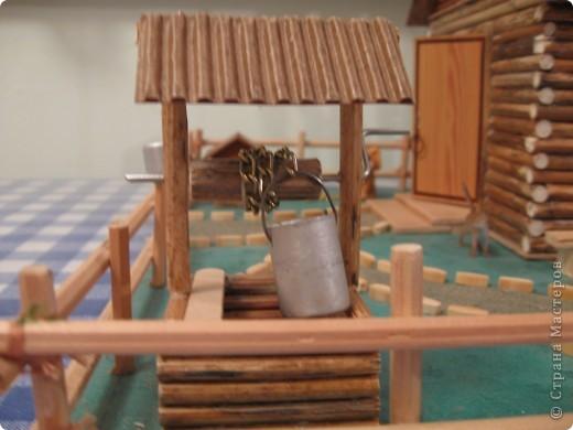 Поделка домика в деревни
