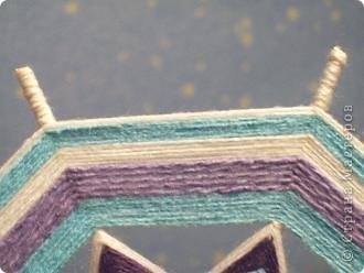 а вот эту мандалу сделала любимому в подарок под цвет обоев, типа в морском стиле фото 4
