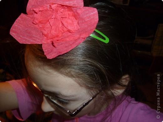 вот сначала делаем цветочек фото 4