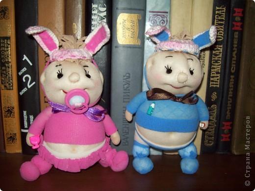 Пупсы- кролики фото 1