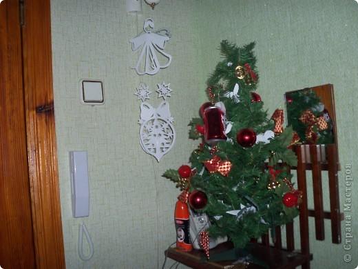 Ангелочек и новогодний шарик фото 1