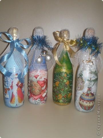 Вот такие бутылочки получились. фото 1