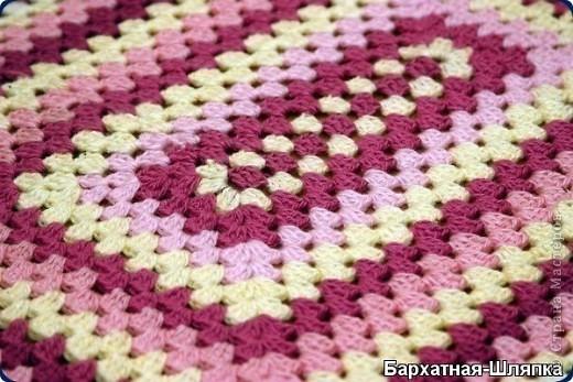 коврик связанный   в     технике Эрин Линдсей фото 2