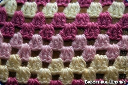 коврик связанный   в     технике Эрин Линдсей фото 3