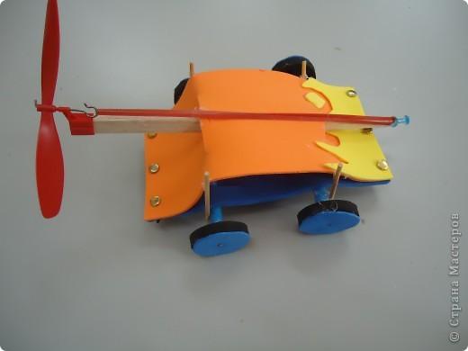 Машина,приводящаяся в движение вращением лопости..., фото 1