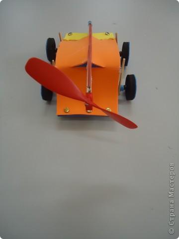 Машина,приводящаяся в движение вращением лопости..., фото 3