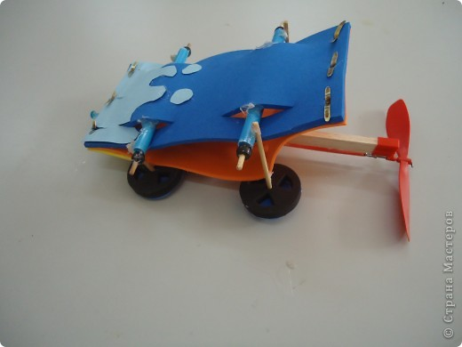 Машина,приводящаяся в движение вращением лопости..., фото 4