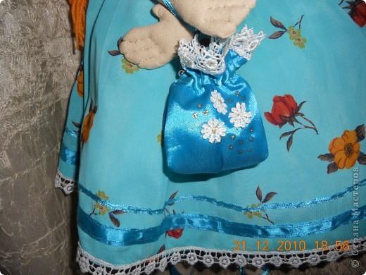 Сшила из ткани куклу принцессу,которая превращается в русалочку в подарок на новый год девочке Сашеньке. фото 5
