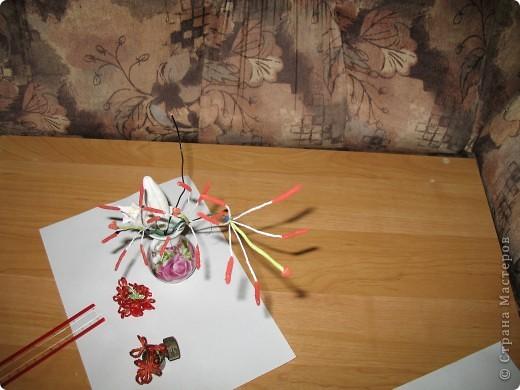 Для создания лилии (три раскрытых цветка и бутон) необходимо нарезать 18 проволочек 0,2-0,3мм по 18 см. каждая фото 15