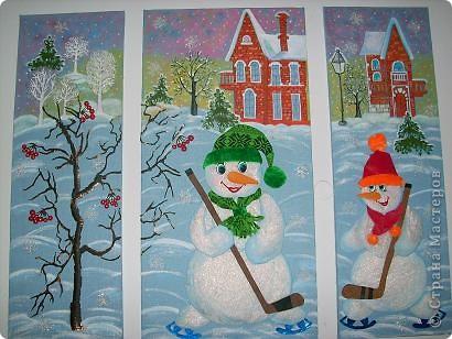 Весёленькие снеговички