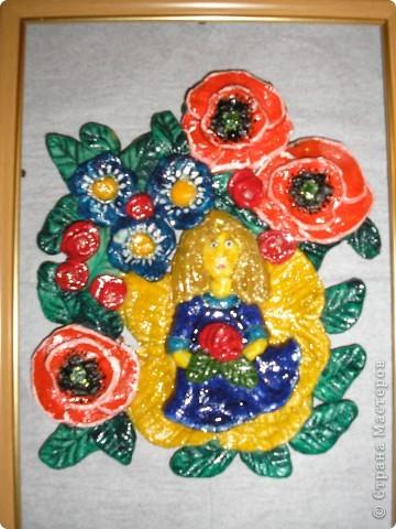 Девочка в цветах. фото 1