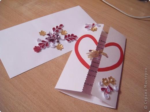 Под впечатлением от работ Елены Милбрадт http://stranamasterov.ru/node/131680 была сделана открытка для своего любимого на годовщину нашего знакомства. Спасибо Мастеру за предоставленную возможность учиться и получать от этого удовольствие!  Размер10х18 фото 1