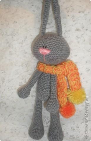 Вязание крючком - Заяц-1.