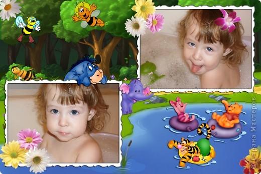 Фотошопом я занимаюсь около года. Это одни из первых моих работ. На фото моя доченька и сынок. фото 12