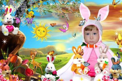 Фотошопом я занимаюсь около года. Это одни из первых моих работ. На фото моя доченька и сынок. фото 8