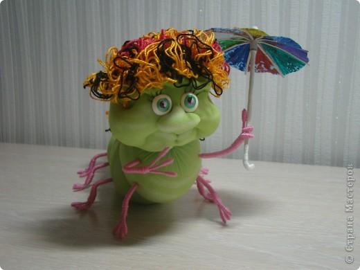 Вот такая получилась у меня гусеничка. фото 2