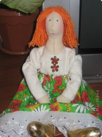 Моя первая Тильда. фото 2