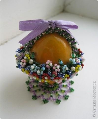 """Пасхальное яйцо """"Корзиночка"""" + схема фото 2"""