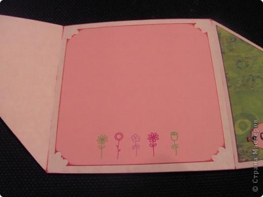 Вот такая открыточка родилась для игры по-скетчу от Лена-Лена. За что ей огромное спасибо!!! Игра тут http://stranamasterov.ru/node/131341 . фото 5