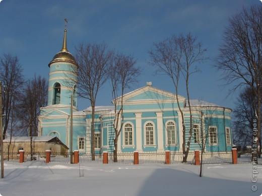 г. Медынь Церковь Казанской Божьей Матери В этой церкви мы отстояли вечернюю праздничную службу. фото 2