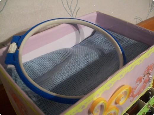 Комодик для вышивки фото 7