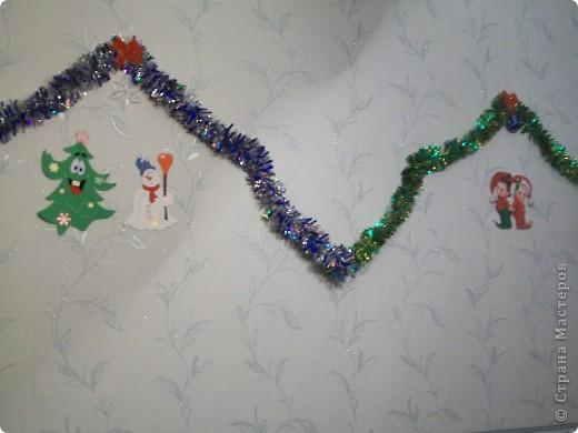 Вот так я украсила стену. фото 4
