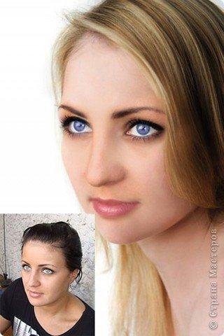Мои работы в фотошопе (До и после) фото 2