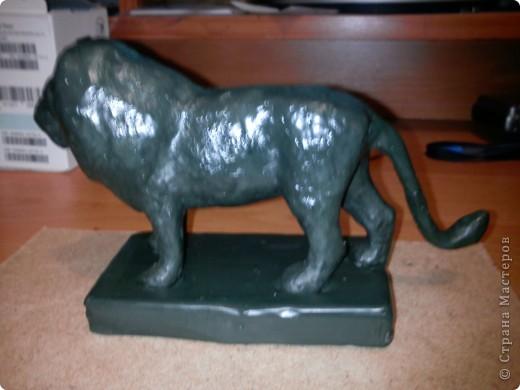 Лев со скульптурного пластилина! фото 1
