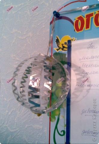 Вот такие шарики мы делали с дочкой для украшения группы в детсаду. Я бы про них наверное и не вспомнила, если бы не увидела их в понедельник в группе.:) фото 4