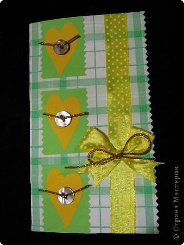 Вот такие нежно-зеленые и желто-солнечные получились у меня открытка и кусудама фото 2