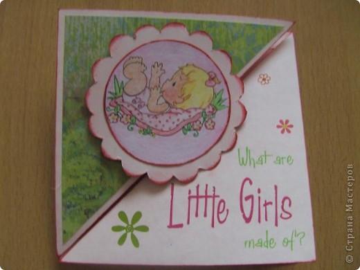 Вот такая открыточка родилась для игры по-скетчу от Лена-Лена. За что ей огромное спасибо!!! Игра тут http://stranamasterov.ru/node/131341 . фото 1