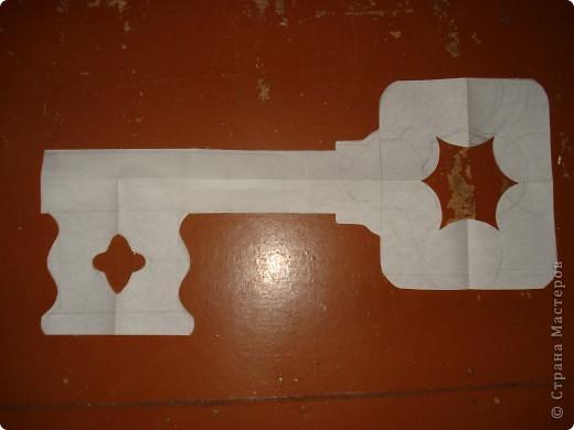 Как сделать ключик буратино своими руками из бумаги