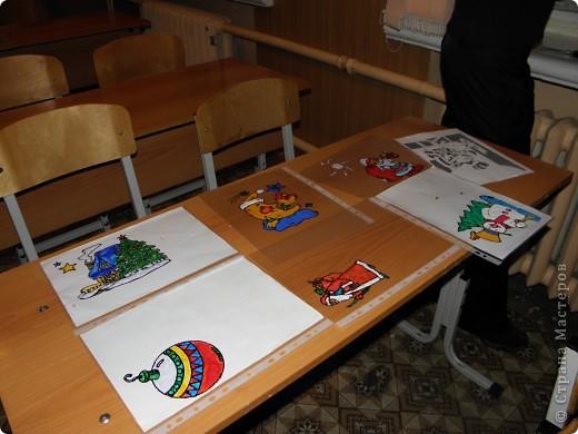 непонятно,кому больше было интересно : детям или взрослым?! по отзывам родителей все получили удовольствие от работы с витражными красками! фото 3
