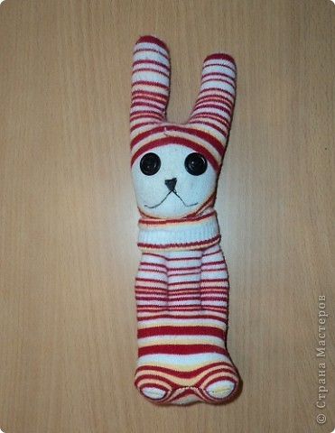 Мои первые зайчата из носков. фото 2