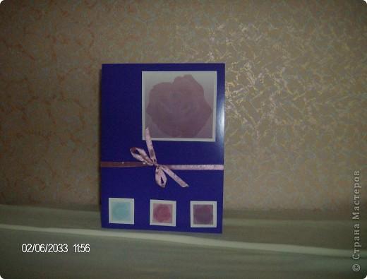"""серия открыток """"розы"""", была куплена бумага для записей с изображением роз и родилась эта серия открыток фото 2"""