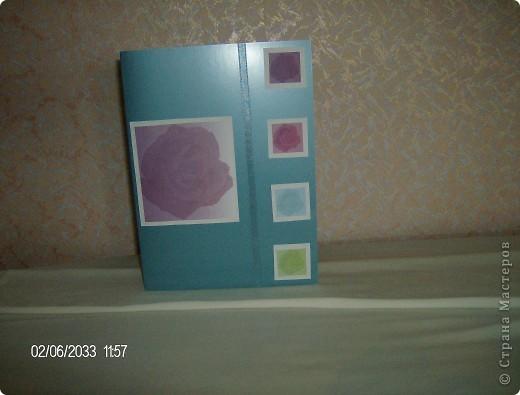 """серия открыток """"розы"""", была куплена бумага для записей с изображением роз и родилась эта серия открыток фото 3"""