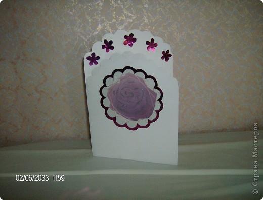 """серия открыток """"розы"""", была куплена бумага для записей с изображением роз и родилась эта серия открыток фото 7"""