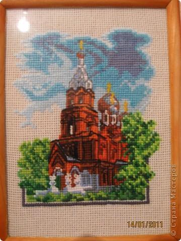 Вышивка. Церкви фото 7