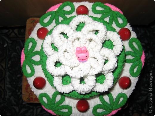 Вот такой торт получился для тренера в подарок. фото 5