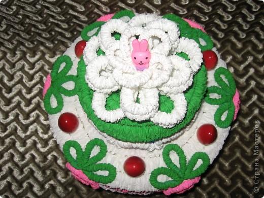 Вот такой торт получился для тренера в подарок. фото 3