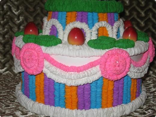 Вот такой торт получился для тренера в подарок. фото 2