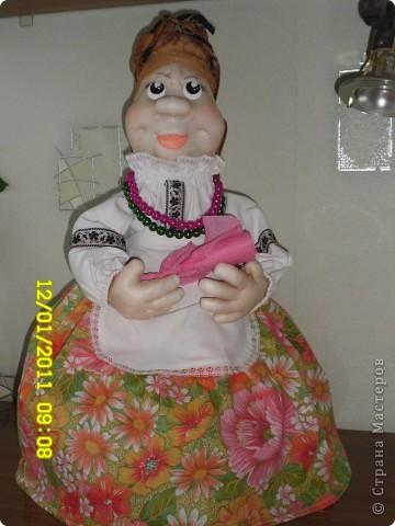 Вот и я сподобилась на куклу. Сразу огромное спасибо Ликме и за идею, и за вдохновение. фото 1