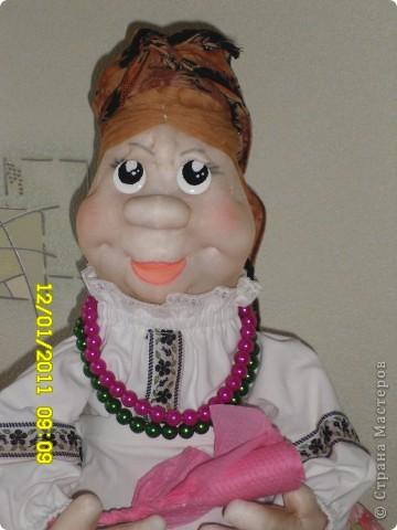 Вот и я сподобилась на куклу. Сразу огромное спасибо Ликме и за идею, и за вдохновение. фото 2
