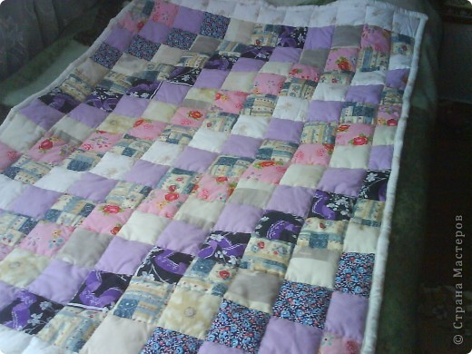 мое первое одеялко  для дочки