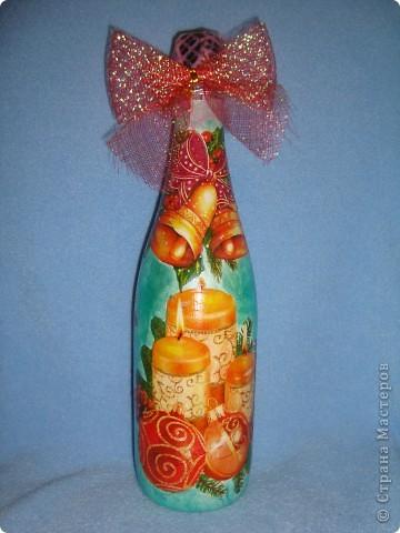 Новогодние бутылочки. фото 1